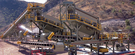 Crushing and Screening System designed for Mercedes Mine in Mexico