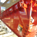 FMC Syntron Feeder regulating material flow pre-crusher