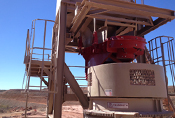 FMC Syntron Feeder at Granmin Mine in Mexico